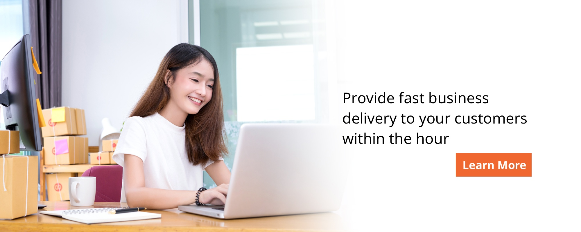 Provide fast business delivery to your customers within the hour