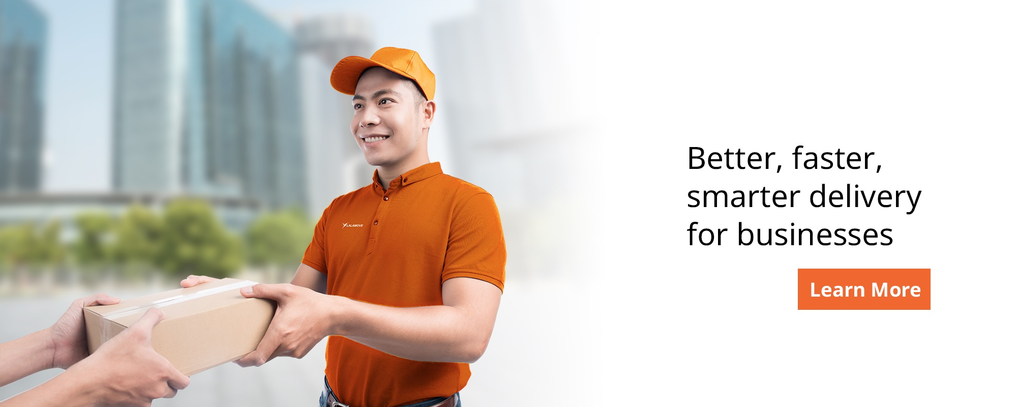 Better, faster, smarter delivery for businesses