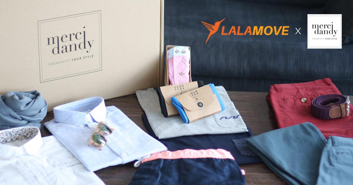 Merci Dandy - Menyepadukan Khidmat Penghantaran Peringkat Akhir oleh Lalamove dalam E-dagang