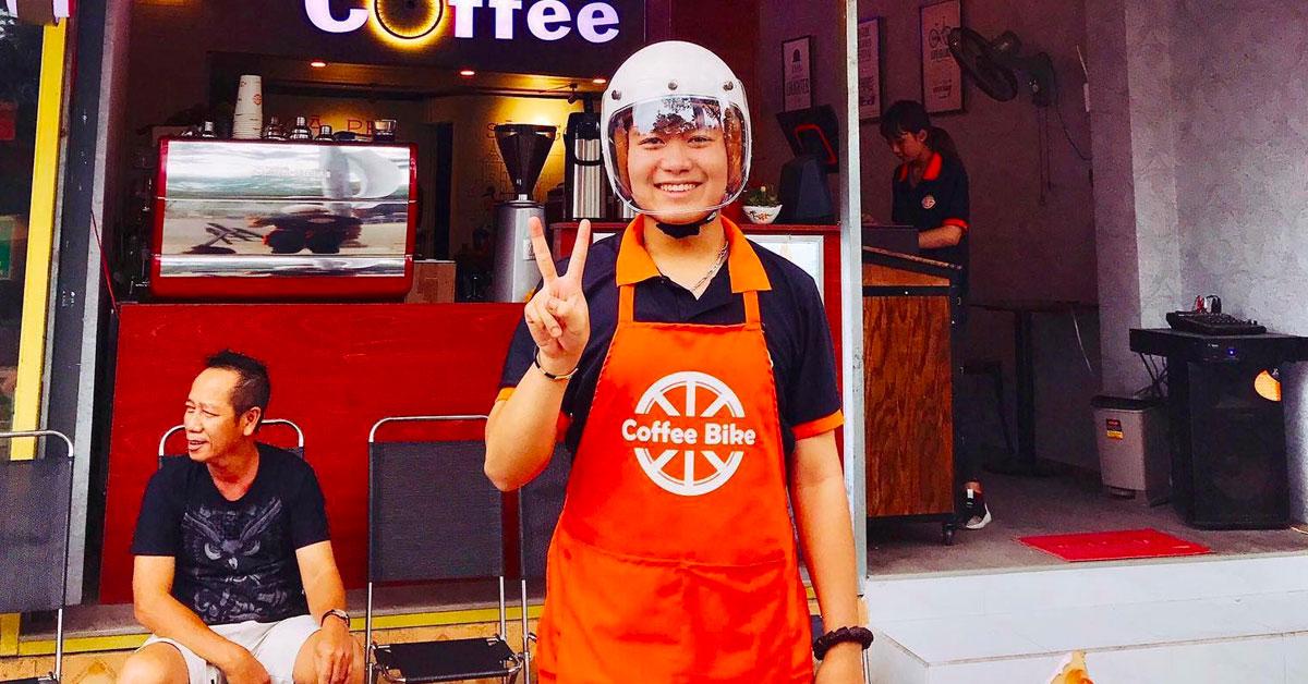 Chương trình hợp tác Lalamove x Coffee Bike