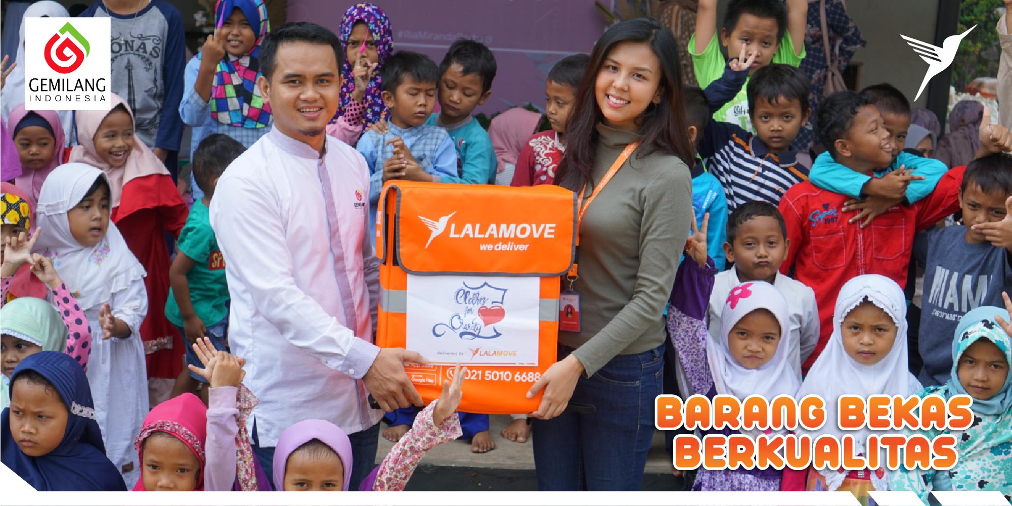 Lalamove x Clothes for Charity bantu Sekolah Pemulung Cilik