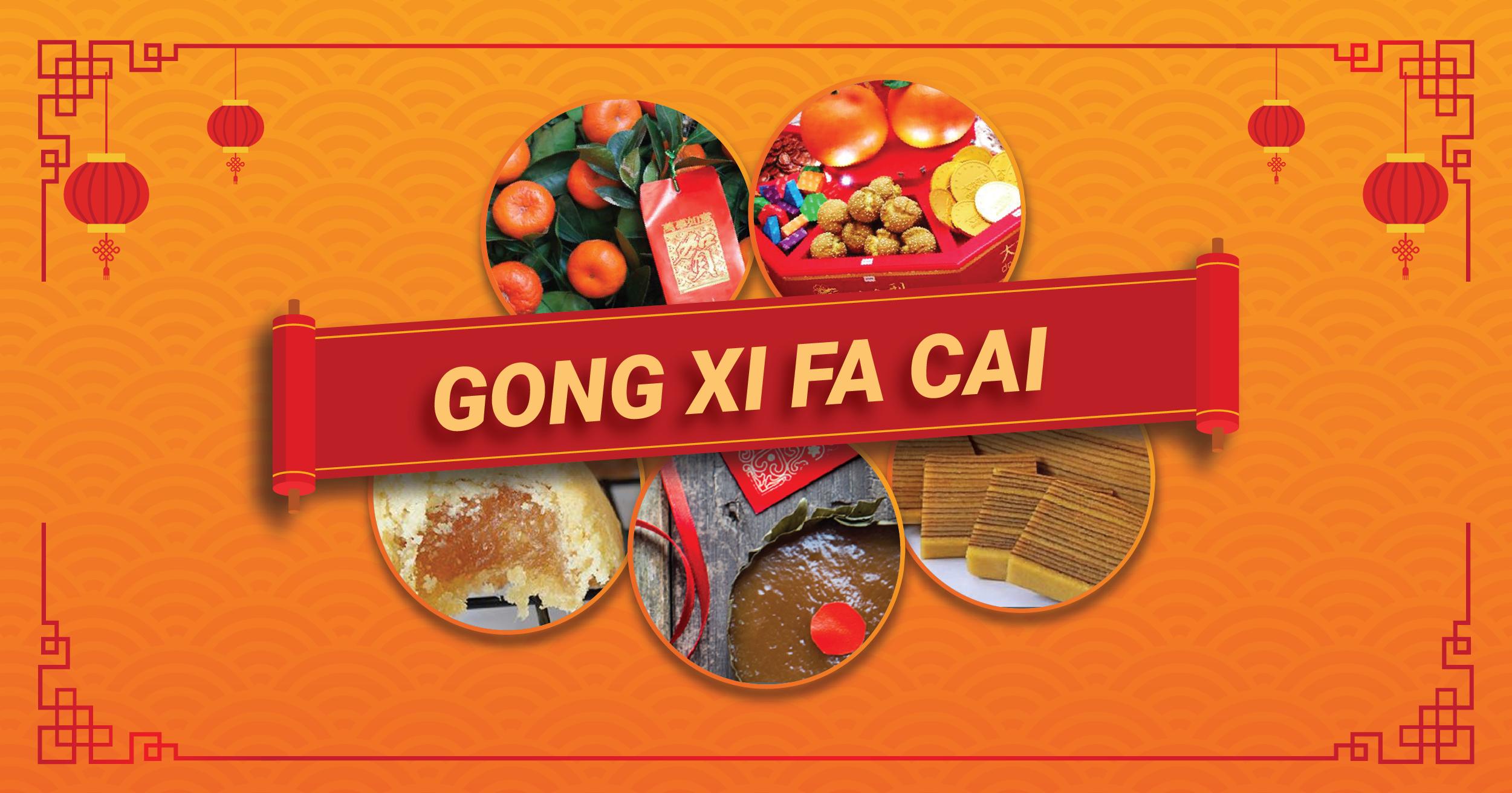 GONG XI FA CAI ! Selamat Tahun Baru Imlek, Rayakan Kemeriahan Imlek dengan Cemilan Menarik di tengah Kehangatan Orang Tersayang