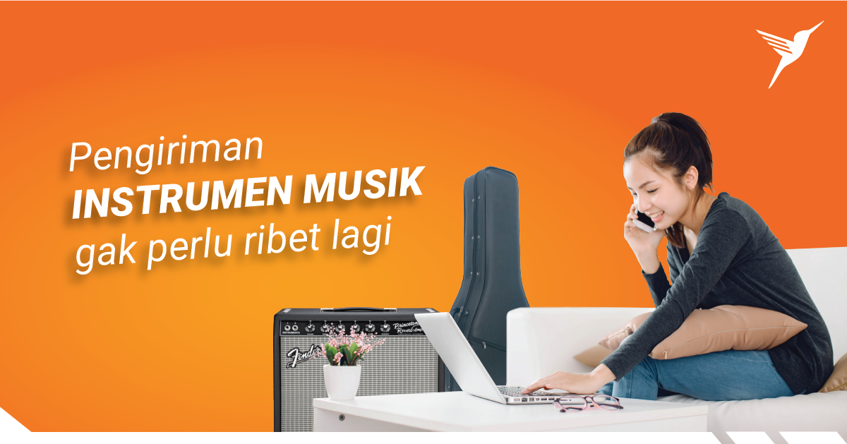 Pengiriman Instrumen Musik Gak Perlu Ribet Lagi!