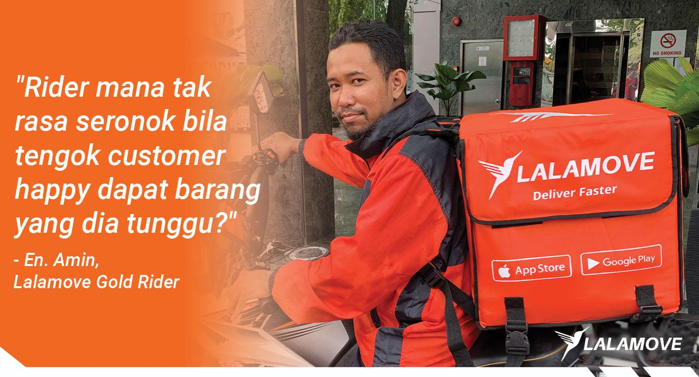 Hari Pekerja: Kisah di Sebalik Pendapatan RM5,000 Sebulan dengan Lalamove