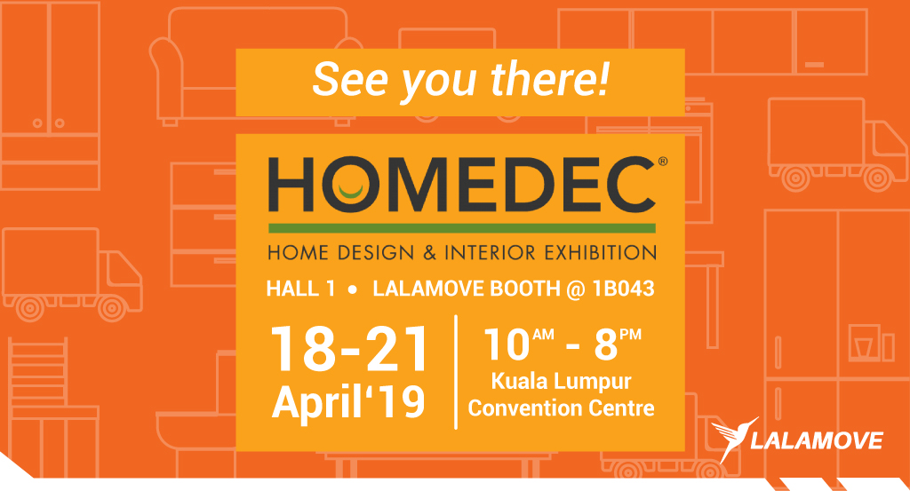 Exclusive Moving Deals with RM50 Rebate at HOMEDEC 2019