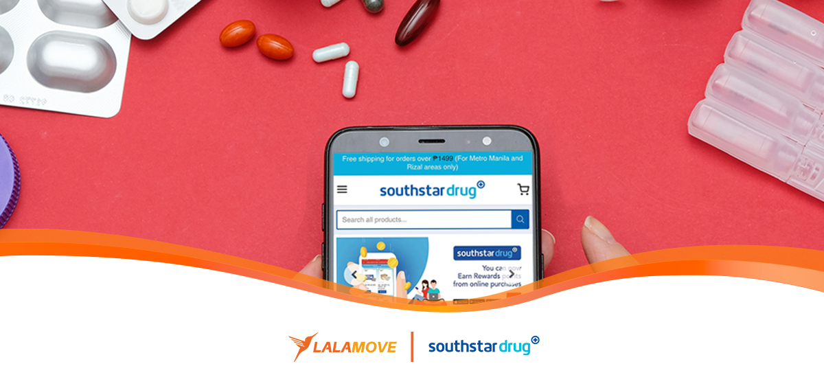 Lalamove-southstar-drug-phone-medicine