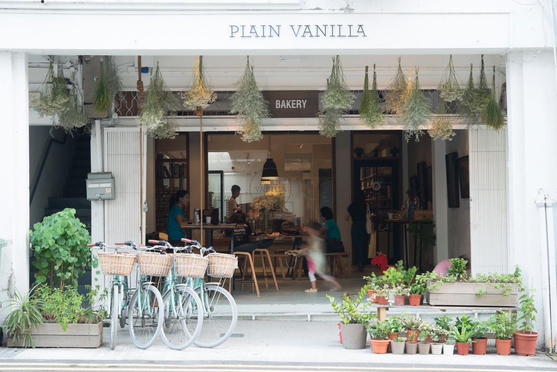 Plain Vanilla- Tiong Bahru Plain Vanilla - Shop Front