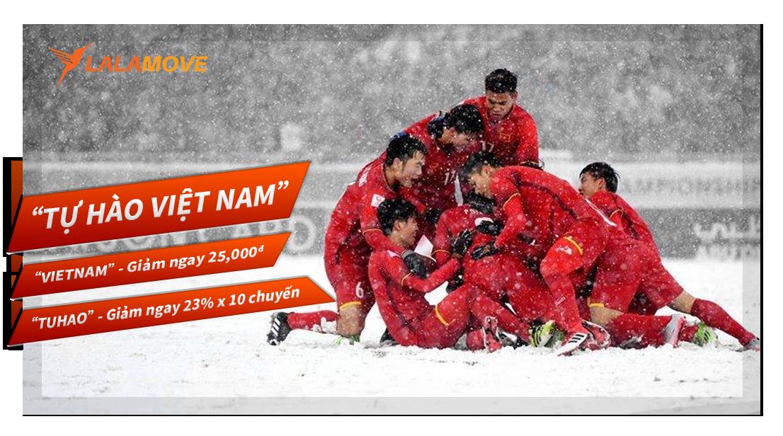 Khuyến mãi chúng mừng đội tuyển U23 Việt Nam !