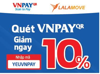 [HCMC] Giảm ngay 10% khi nạp tiền bằng VNPAY-QR