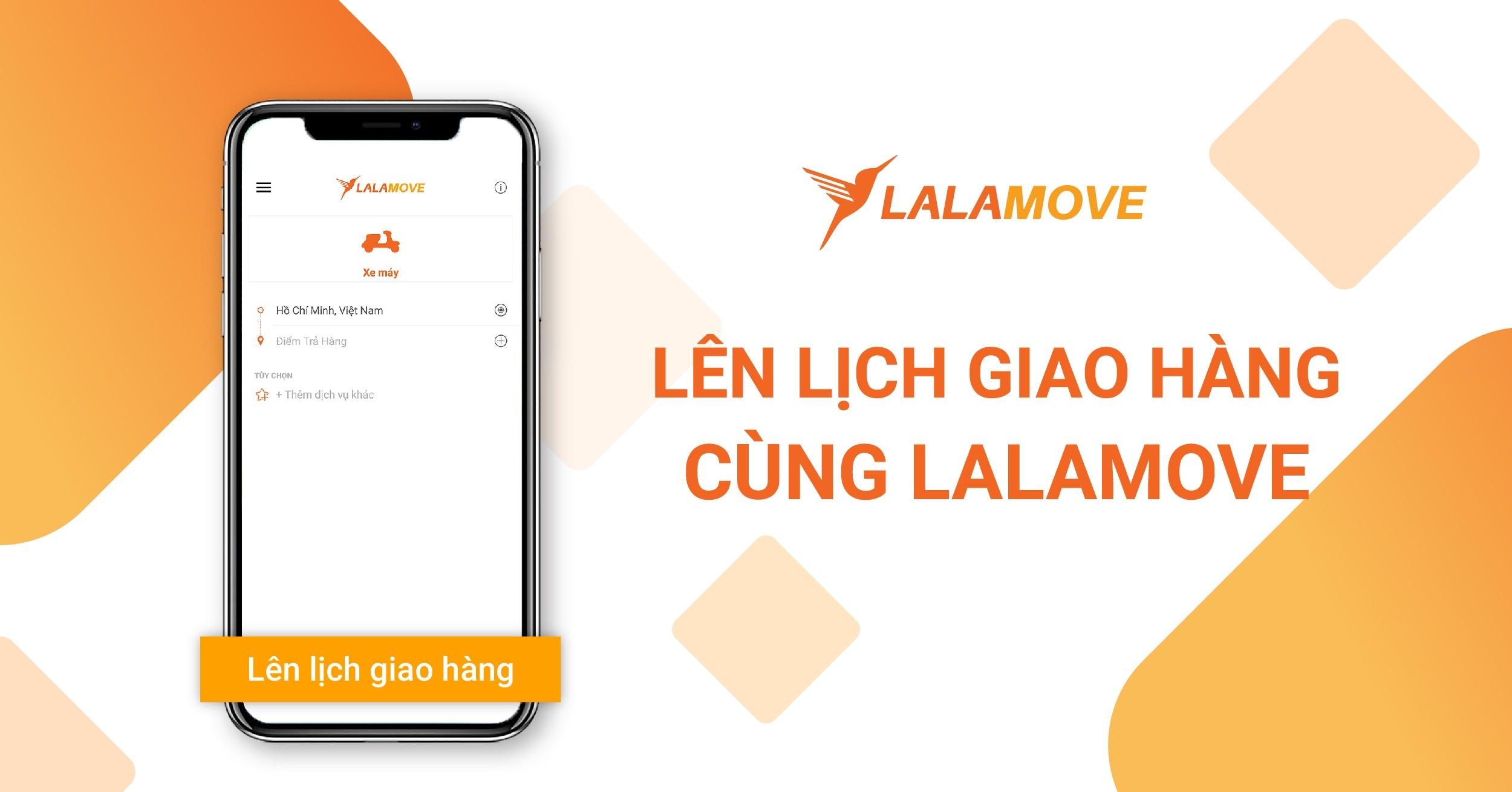 """Tính năng """"Lên lịch giao hàng"""" của Lalamove giúp bạn không lo trễ hẹn với khách"""