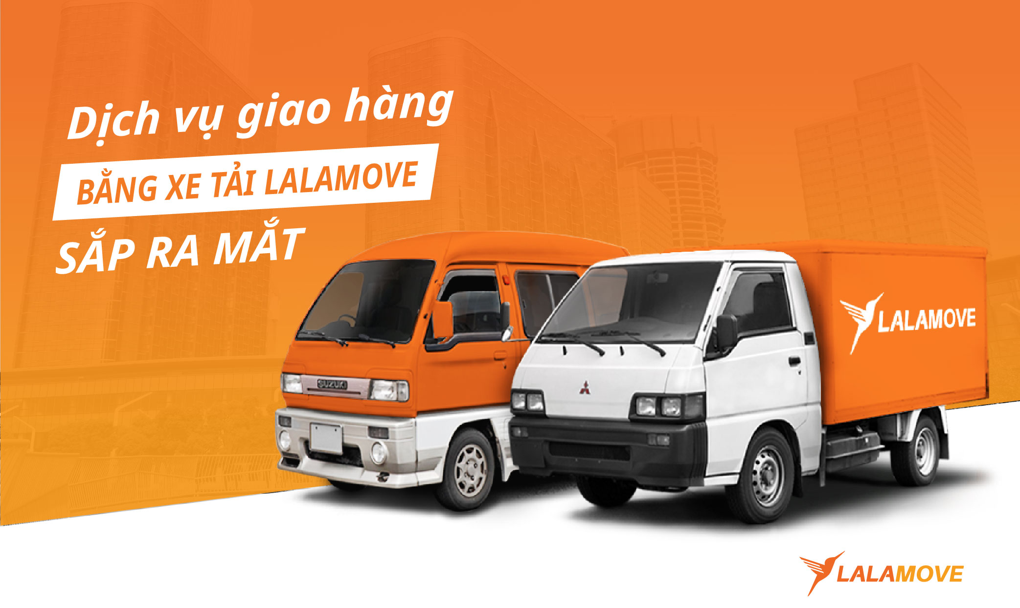 Lalamove sắp ra mắt dịch vụ giao hàng xe tải nội thành
