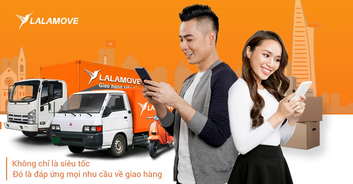 Xe tải Lalamove - Đáp ứng mọi nhu cầu của bạn về giao hàng nội thành siêu tốc